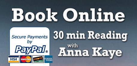 Online booking with PayPal - Anna Kaye Destiny DoctorAnna
